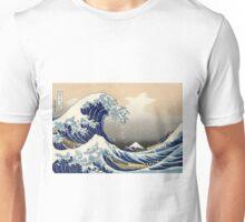 The Great Wave off Kanagawa - Katsushika Hokusai Unisex T-Shirt