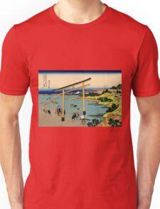 Bay of Noboto - Katsushika Hokusai Unisex T-Shirt