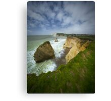 Isle of Wight seascape Canvas Print