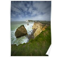 Isle of Wight seascape Poster