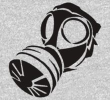 Plain Gas Mask One Piece - Short Sleeve