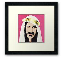 Zappa! Framed Print