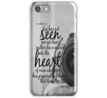 No Eye Has Seen iPhone Case/Skin