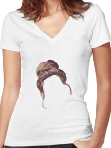 Zoella's Hair! Zoe Sugg Women's Fitted V-Neck T-Shirt