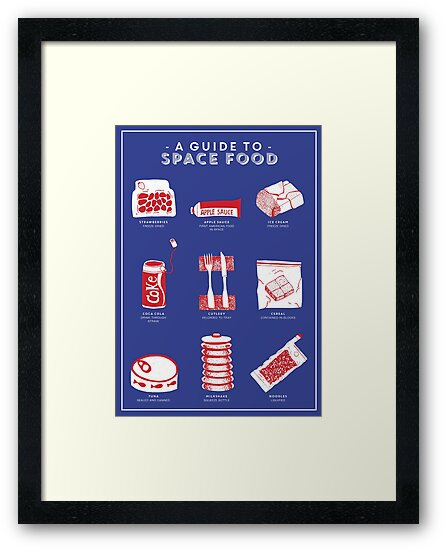 A Guide to Space Food by Chloe Morris