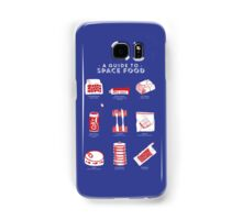 A Guide to Space Food Samsung Galaxy Case/Skin