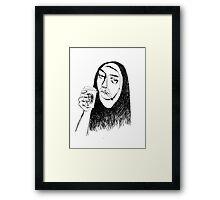 nun Framed Print