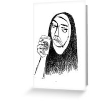 nun Greeting Card