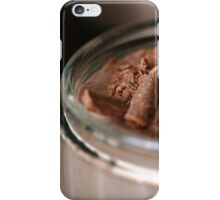 Double Chocolate Cheesecake iPhone Case/Skin