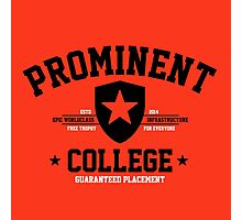 Prominent College T-shirt Photographic Print