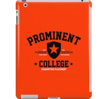 Prominent College T-shirt iPad Case/Skin