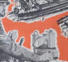 Reprint of British wartime poster. Sticker