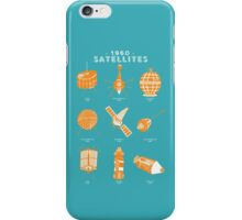 1960s Satellites iPhone Case/Skin