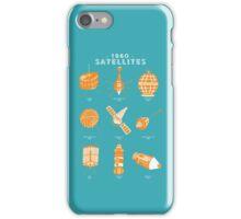 1960s Satellites iPhone Case/Skin