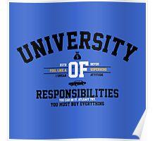 University of Responsibilities Poster