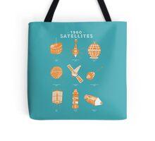 1960s Satellites Tote Bag