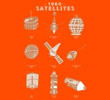 1960s Satellites Kids Tee