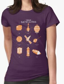 1960s Satellites Womens Fitted T-Shirt