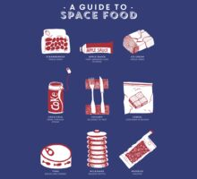 A Guide to Space Food T-Shirt