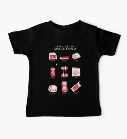 A Guide to Space Food Baby Tee