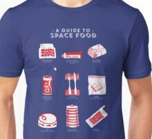 A Guide to Space Food Unisex T-Shirt