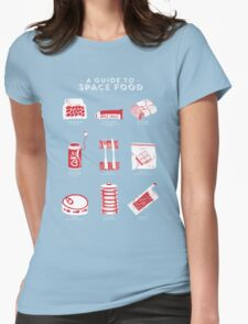 A Guide to Space Food Womens Fitted T-Shirt