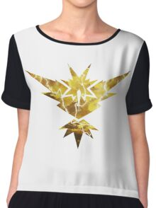 Pokemon GO - Team Yellow Instinct Chiffon Top