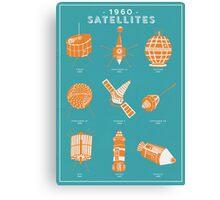 1960s Satellites Canvas Print