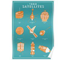 1960s Satellites Poster