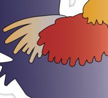 Purple Rooster Sticker