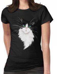 TUX-Tuxedo cats rock Womens Fitted T-Shirt