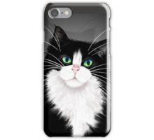 TUX-Tuxedo cats rock iPhone Case/Skin