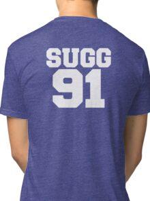 SUGG 91 - ThatcherJoe Baseball - Joe Sugg Tri-blend T-Shirt