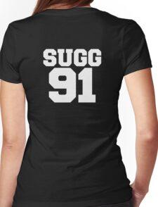 SUGG 91 - ThatcherJoe Baseball - Joe Sugg Womens Fitted T-Shirt