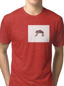 "MICROSOFT F1 the ROBOT - ""Internet Art"" Tri-blend T-Shirt"