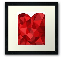 Corset - Hearts Delight Diamonds Framed Print