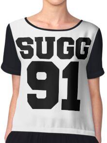 SUGG 91 - ThatcherJoe Baseball - Joe Sugg - WHITE Chiffon Top