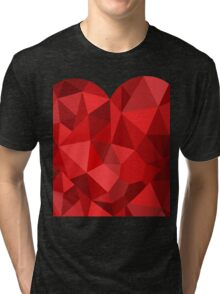 Corset - Hearts Delight Diamonds Tri-blend T-Shirt
