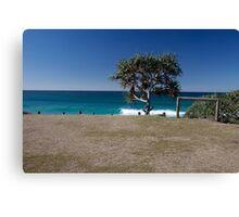 Paddle Boarder, Cabarita NSW Australia Canvas Print