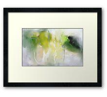 Juniper Brush Framed Print