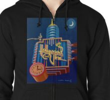 Signs of the Times: Hollywood & Vine Zipped Hoodie
