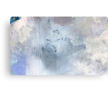 Marbled Blue Canvas Print