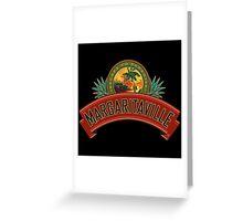 margaritaville logo jimmy buffet original kluwer Greeting Card