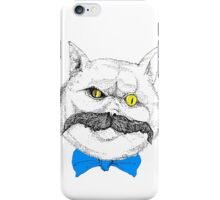 Evil Cat #1 iPhone Case/Skin