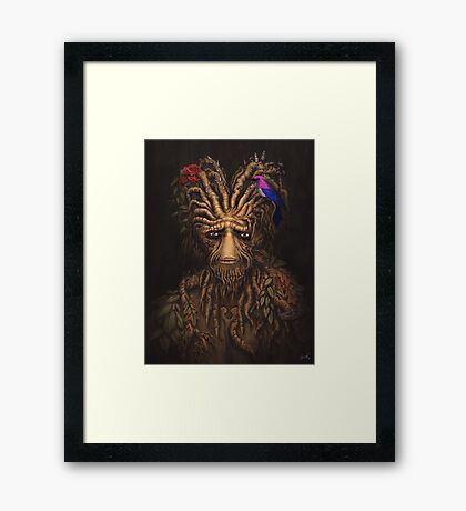 Last Days of the Woodman Framed Print