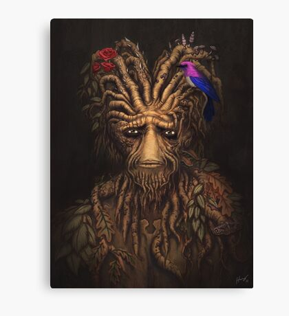 Last Days of the Woodman Canvas Print