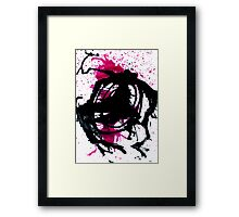 Colorful Paint Drips 10 Framed Print