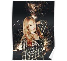 Kim Taeyeon - Fire Poster