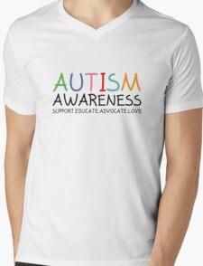Autism Awareness Mens V-Neck T-Shirt