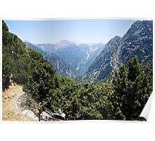 The Samaria Gorge Poster